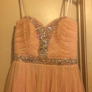 Sequined Junior Short dress